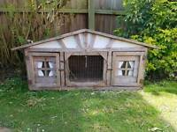 Rabbit/guinea pig hutch free