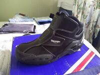 New Triumph Alpinestars Leather Motorcycle / Motorbike Boots Shoes