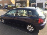Honda Civic 2002 for sale mot 10 months valid.£400