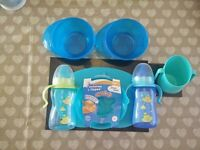 Bundle of baby / toddler bowls and cups
