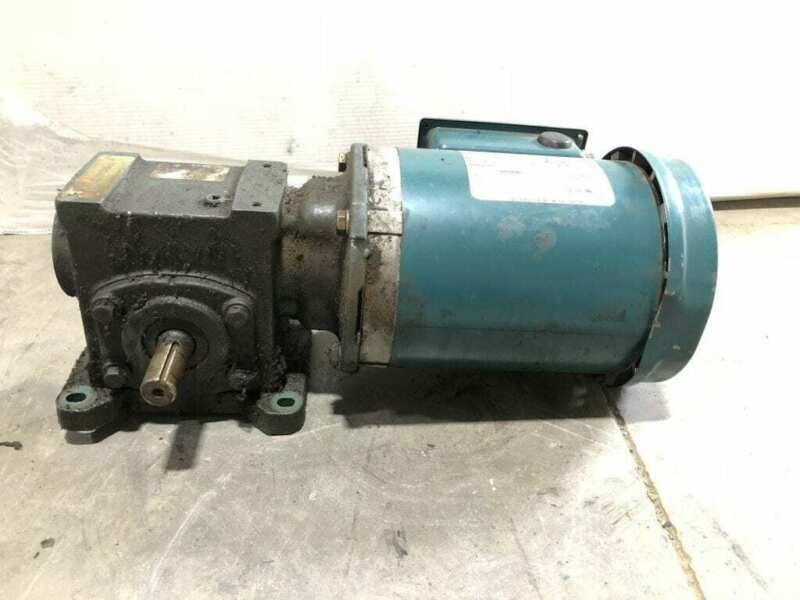Dodge Tigear 2 17Q10L14 Gear Drive/Speed Reducer 534lb-in 10:1 1HP 1725RPM 3PH