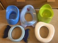 Potty / toilet training bundle inc Travel Potty