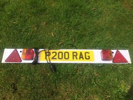 Ring Auto Trailer Board 4m Cable. Used. RCT810/P. Collection only.
