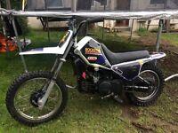 Polaris 250 trailblazer quad Yamaha pw80 bike