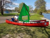 Summer holiday Family rafted canoe trips in Windsor