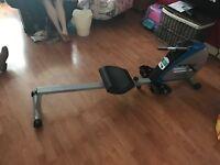 Body max rowing machine plus anti slip mat