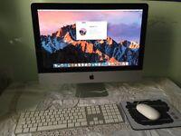 iMac 21.5 Quad Core i5 2011/ fully working/Original Apple Keyboard/Office 2011/MacOS Sierra 10.12