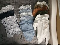 Baby first size sleepsuit & grows