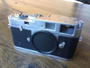 Leica M2 with speed loader upgrade and recent CLA