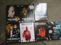 shield dvd box sets series 1-7