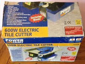 Powercraft 600w Electric Tile Cutter