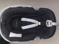 Mamas and Papas Cybex Aton car seat with adapters