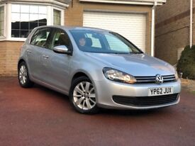 VW Golf MK 6 Match 1.6 TDI DSG Auto 5 door hatchback. Silver and in very good condition.