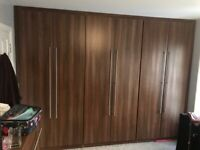 Wardrobe Chest of Drawers and Side Drawers