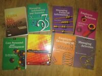 8 x Management Books