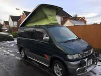Mazda Bongo Camper full side kitchen rock and roll bed auto free top 2.5 Turbo Diesel