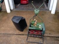 """17"""" Web Cylinder Lawn Mower with Grass Box - re-conditioned"""