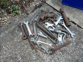 VARIOUS SPANNERS.