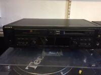 sony cd and minidisc player combi