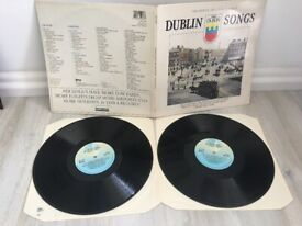 "Dublin Songs-The official Millennium Album Double album,Original vinyl Records/Lp""s"