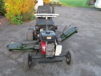 ALLEN NATIONAL 68 RIDE ON CYLINDER MOWER WITH PETROL ENGINE