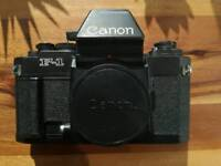 Canon New F-1 in excellent fully working condition w/ AE Finder