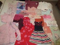 girls 3-4 yrs large clothes bundle - mainly Next - £25