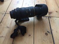 Sigma 50-500mm f/4-6.3 EX DG APO HSM Canon fit lens