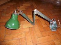 Adjustable workshop machine light