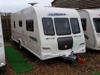 SUPERB 2011 Bailey Pegasus 524 4 Berth Fixed Bed Caravan