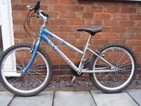 Girls Saxon mountain bike.