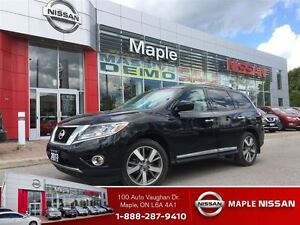 2013 Nissan Pathfinder Platinum 4WD-Leather,Navi, Alloys,1.9% Ra