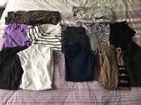 Maternity clothes bundle size 8