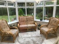 three piece suite conservatory suite