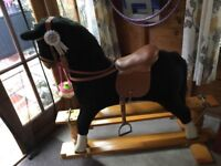 lovely rocking horse for sale REDUCED
