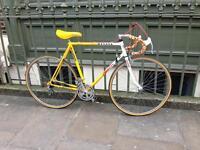 Vintage falcon team banana road racing touring city bike - Reynolds