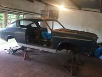 1968 Sunbeam Rapier 2 door fastback complete with all parts
