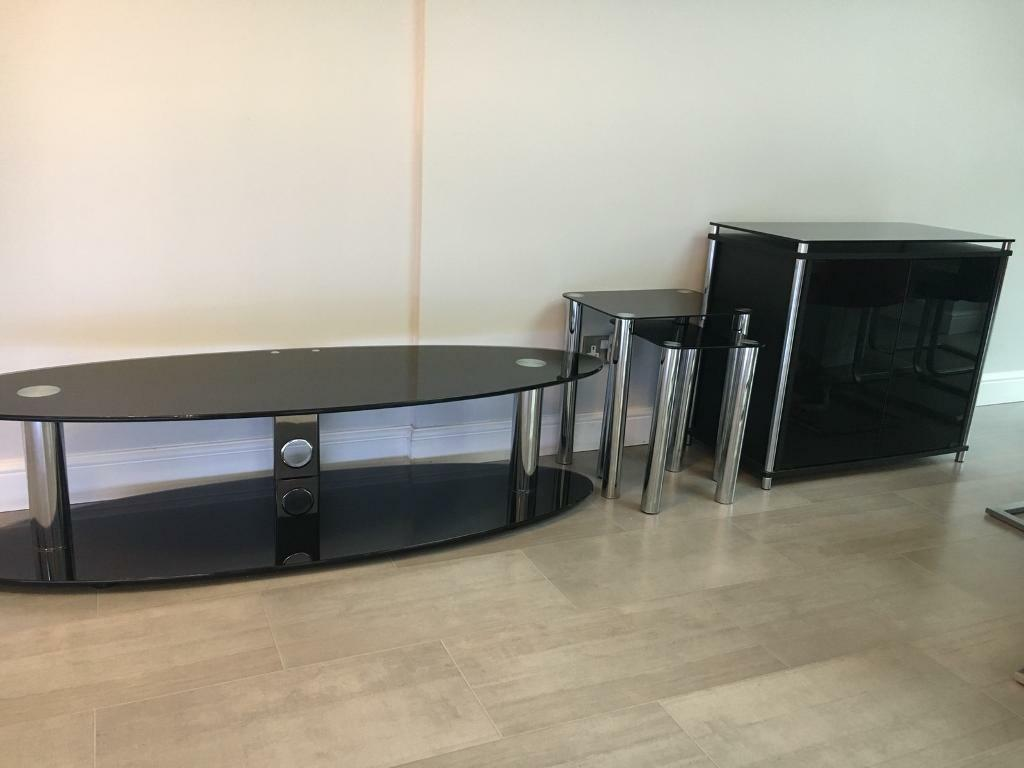 TV stand, sideboard, nest of tables