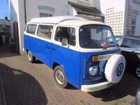 Volkswagon VW T2 Bay Window Type 2 Campervan - Heritage van - tax free