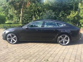 Audi A7 3.0 TDI QUATTRO SE 5d AUTO 245 BHP, service history in stunning condition, with huge spec