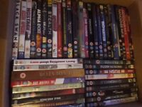 74 Dvds and a couple of box sets