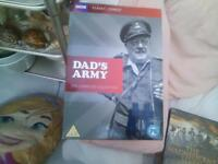 dvd box sets dads army and downton abbey £5 each