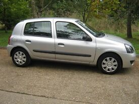2008 Renault Clio 1.5 DCI.75K with FSH.£30 per year road tax.P/X welcome.
