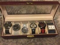 Watches used but like new condition
