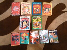 STAR BUY 10 JACQUELINE WILSON BOOKS AND ONE CATHY CASSIDY BOOK