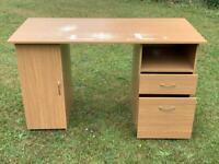 Oak effect work desk - FREE