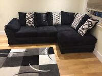 DFS Corner Sofa (Less Than A Year Old)