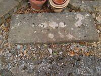 Sandstone doorstep