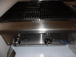 "Charcoal Broiler 24""  Radiant Brand New Natural Gas or Propane Atosa"