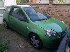 2006 Green Ford Fiesta, £1100 ONO, Low Mileage